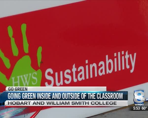 Going green inside and outside of the classroom_20151119232203
