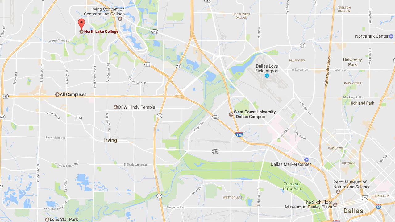 North Lake College, Irving, Texas map29469766-159532