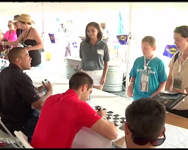 NASCAR fans met K-N Pro Series Drivers at The Bog_00178710-118809198