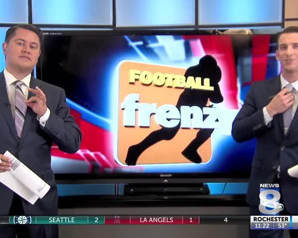 FOOTBALL FRENZY SEPTEMBER 29TH