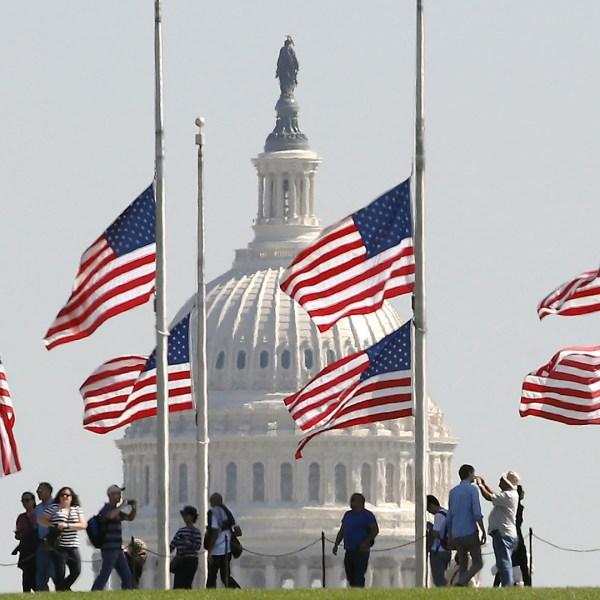 Las Vegas Mass Shooting flags at half-staff at Washington Monument-159532.jpg52125881