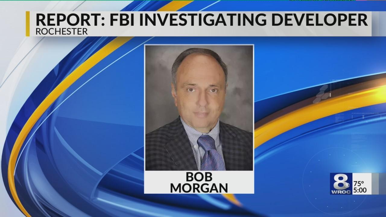 The FBI raided offices belonging to developer Bob Morgan Monday morning...