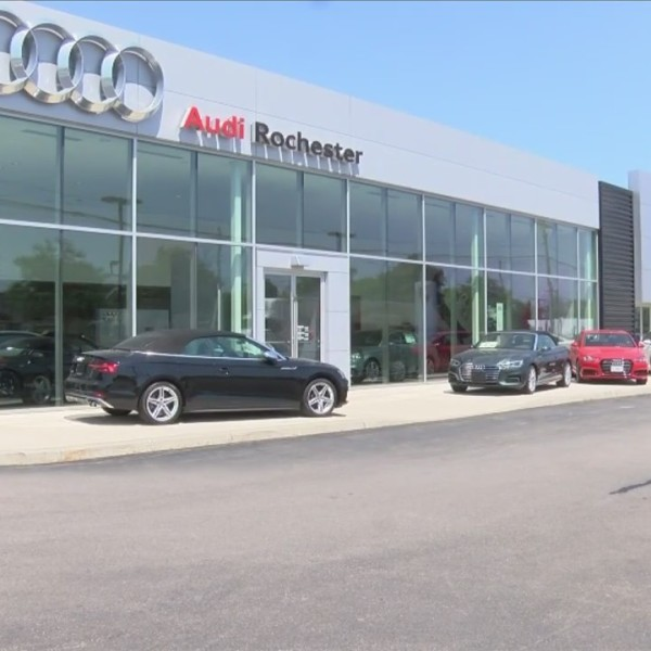 Car dealerships vandalized