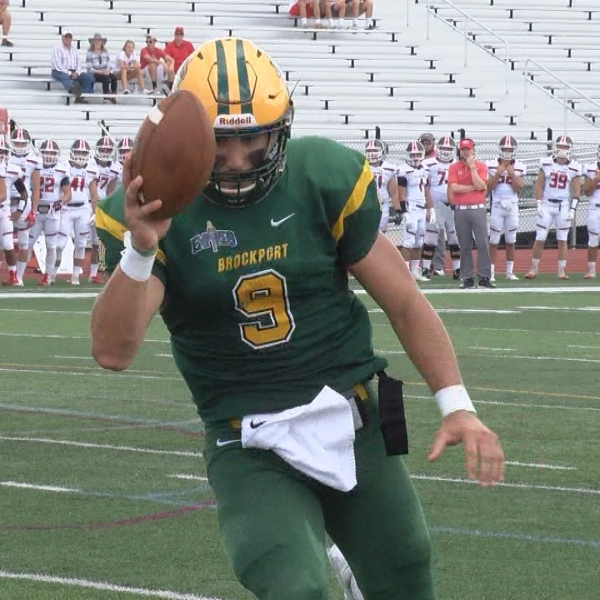 Brockport bests St. Lawrence, 65-12 in Homecoming Showcase