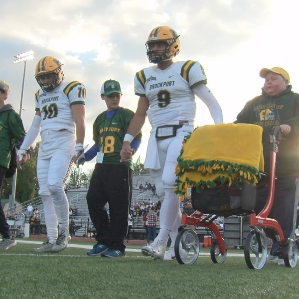 Golden Eagles fly past Cardinals in 14th annual Courage Bowl