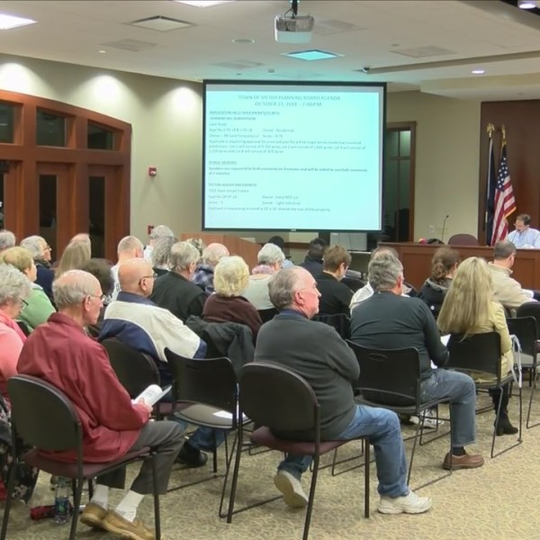 Victor residents concerned about proposed housing development