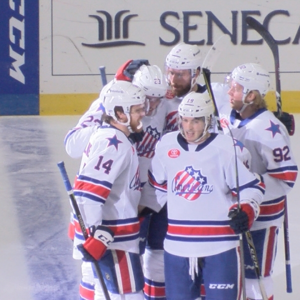 AMERKS UNABLE TO CATCH COMETS IN 5-4 LOSS