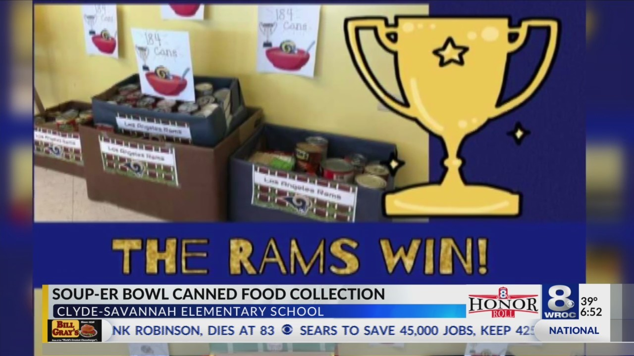 "Honor Roll: ""Soup-er Bowl"" at Clyde Savannah Elementary"
