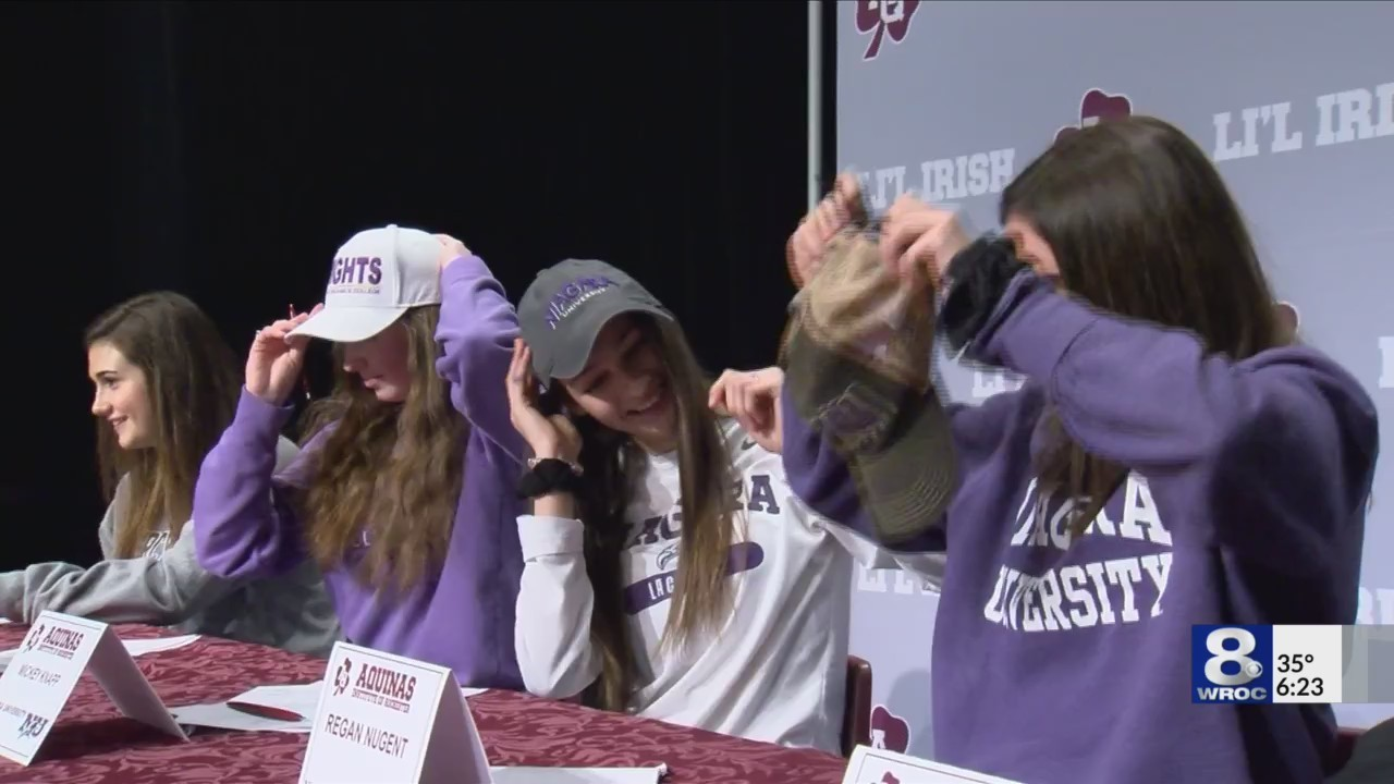 Section Five busy on Signing Day