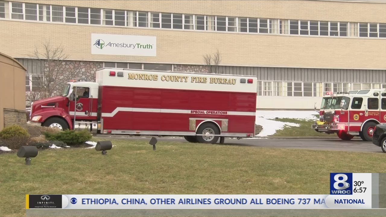 Firefighters ID workers exposed to chemical at Henrietta factory