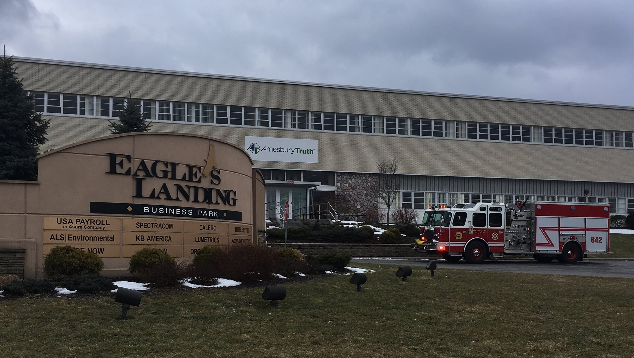 Three workers in critical condition after chemical spill in Henrietta