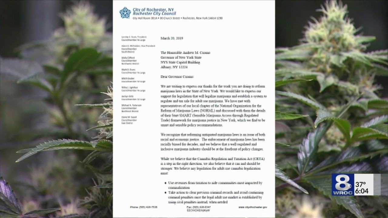 Rochester City Council pens letter backing marijuana legalization with conditions