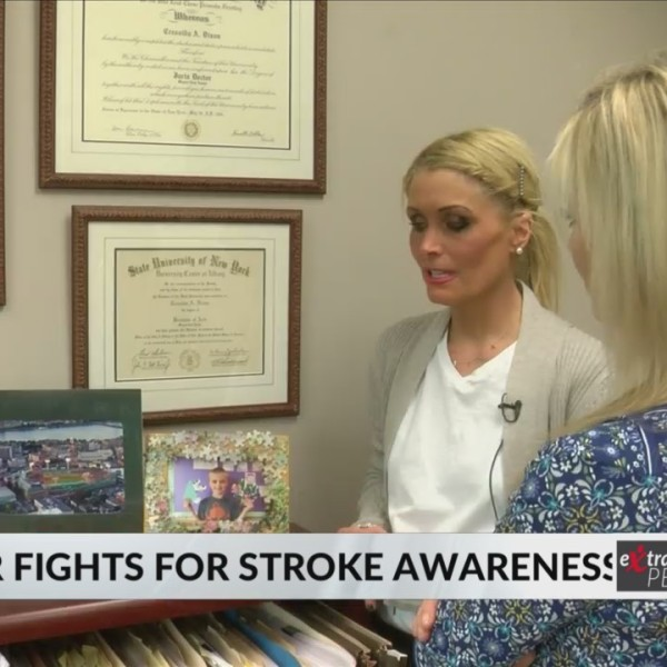 Stroke Survivor Shares Story To Help Others