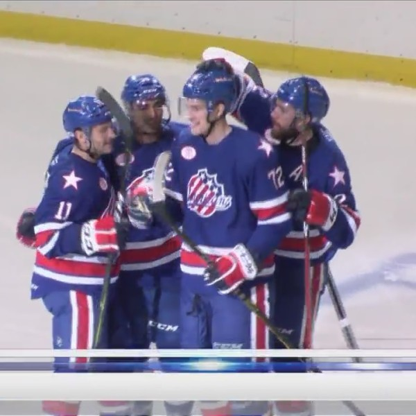 Thompson's three point night leads Amerks over Laval