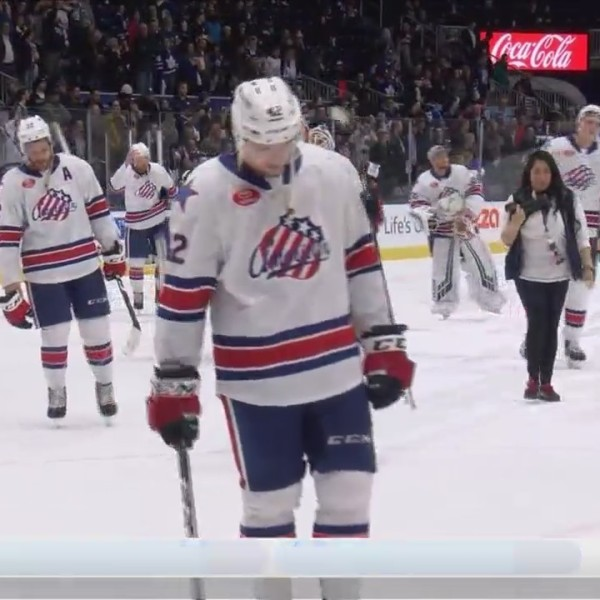 Amerks swept out of playoffs for second straight year