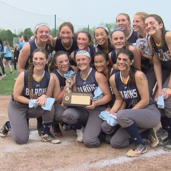Barons and Cougars win softball Sectional crowns