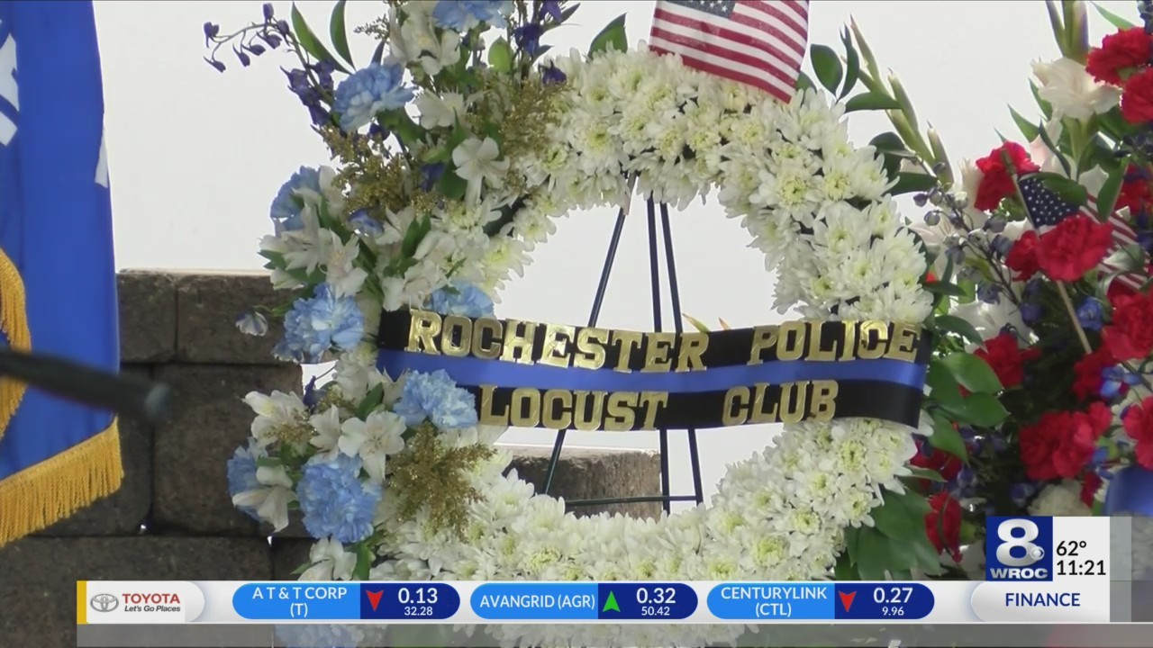 Rochester police honored at award ceremony and memorial service