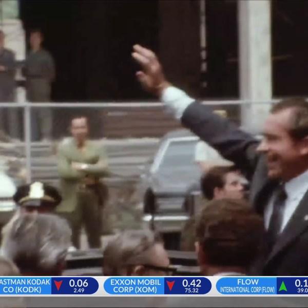President Nixon in Rochester