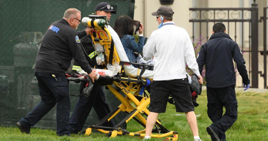 Runaway golf cart at US open injures 5 people_1560617206290.jpg.jpg
