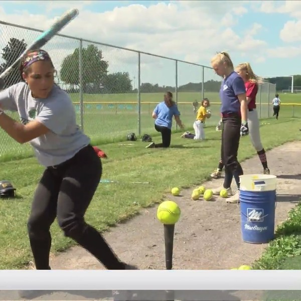 Victor Blue Devils softball team trying to win back-to-back championships