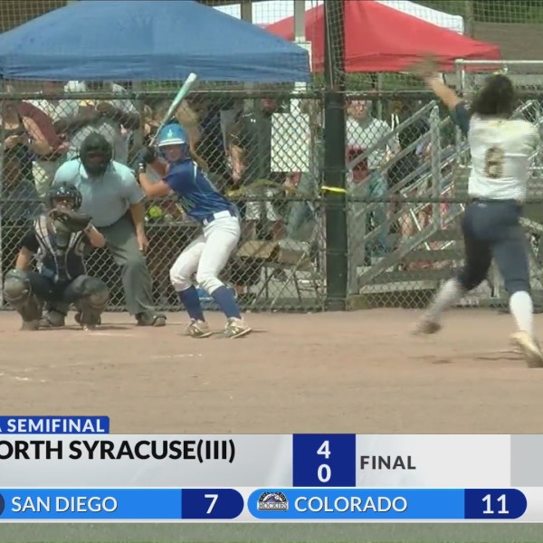 Victor softball blanked in state semifinals