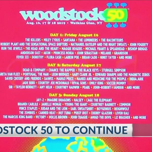 Woodstock 50 update