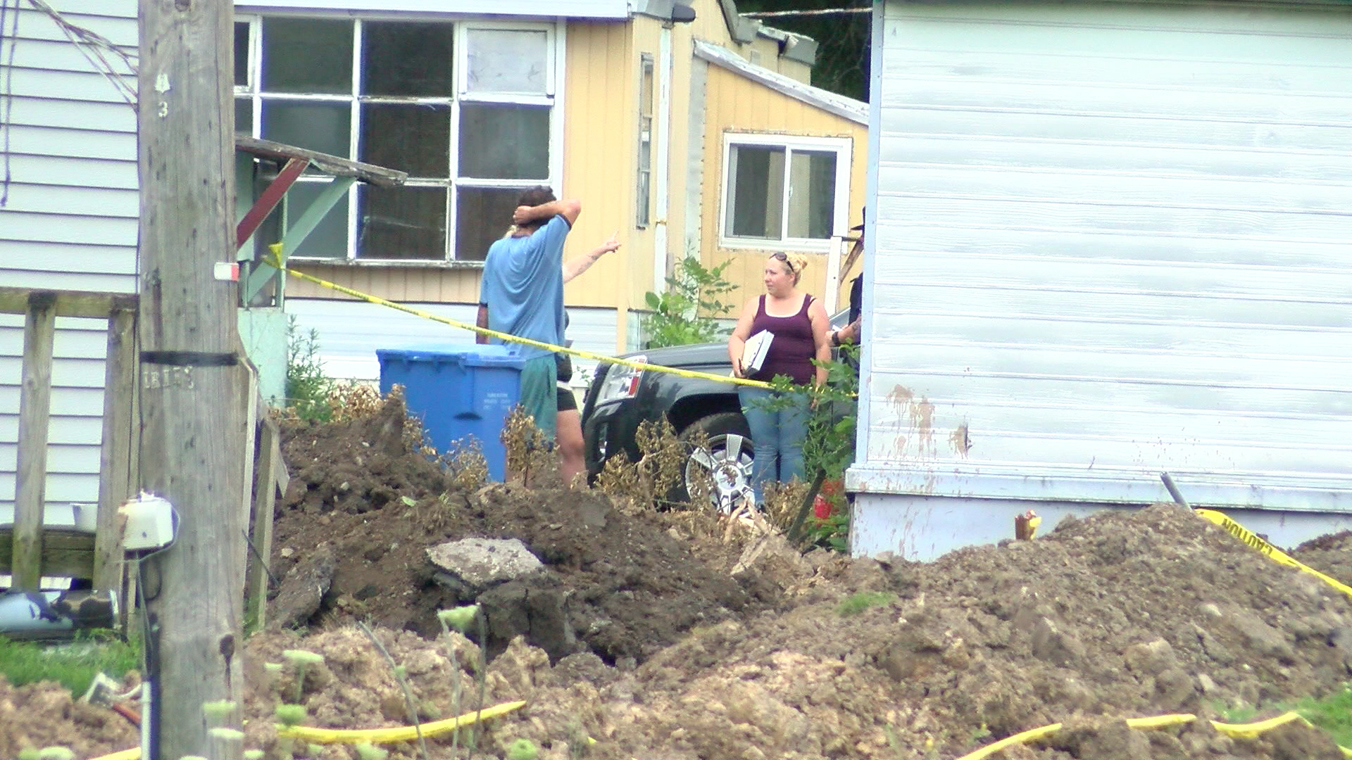 Management demands rent at mobile home park in Lyons weeks after power was turned off