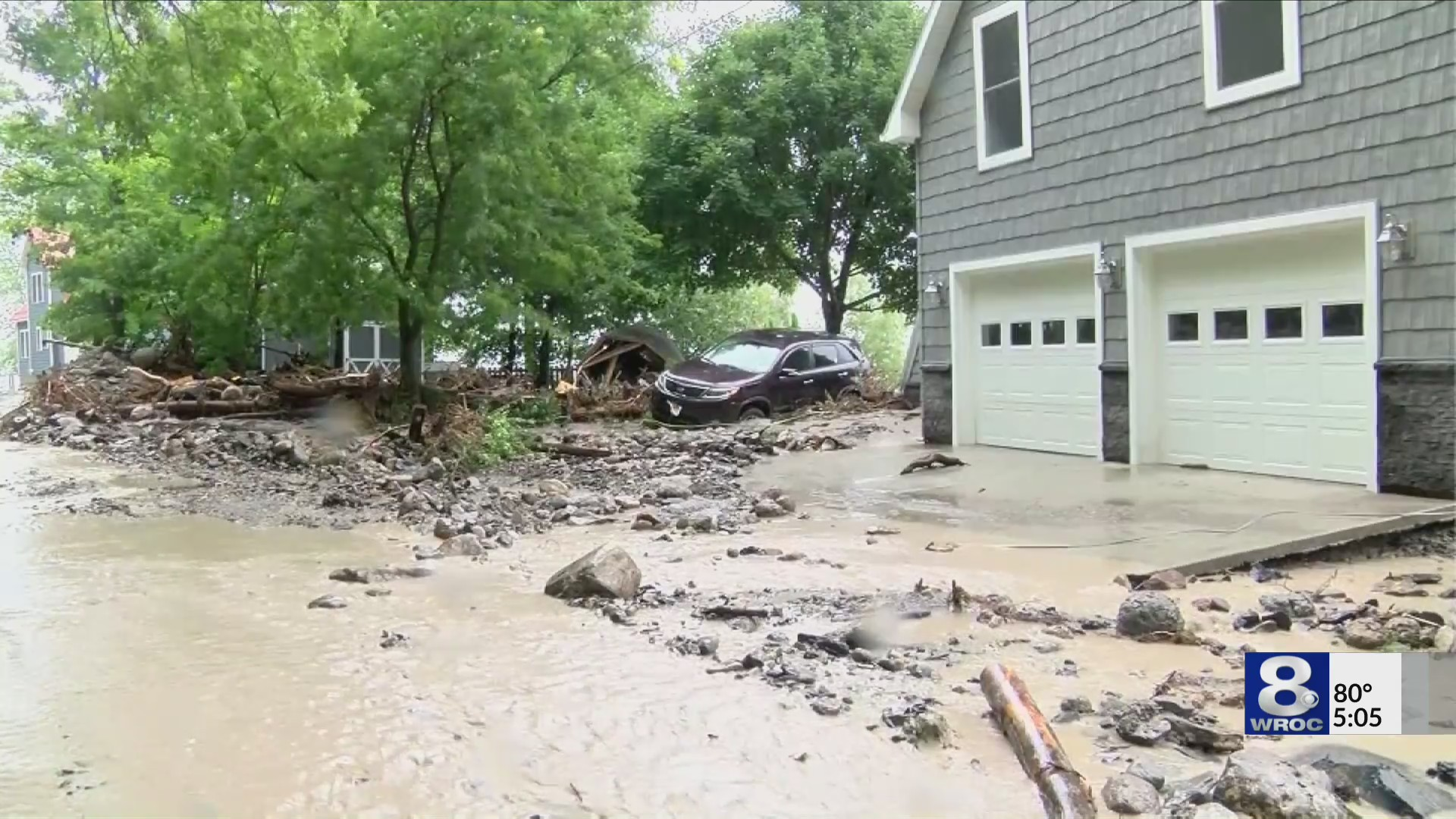 Cleanup in Lodi continues one year after torrential rains and flooding