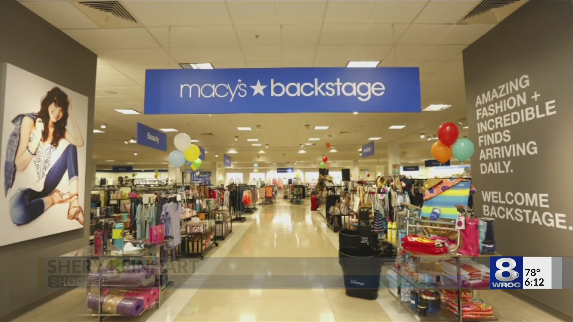 Macy's Backstage brings new experience for shoppers at Eastview Mall