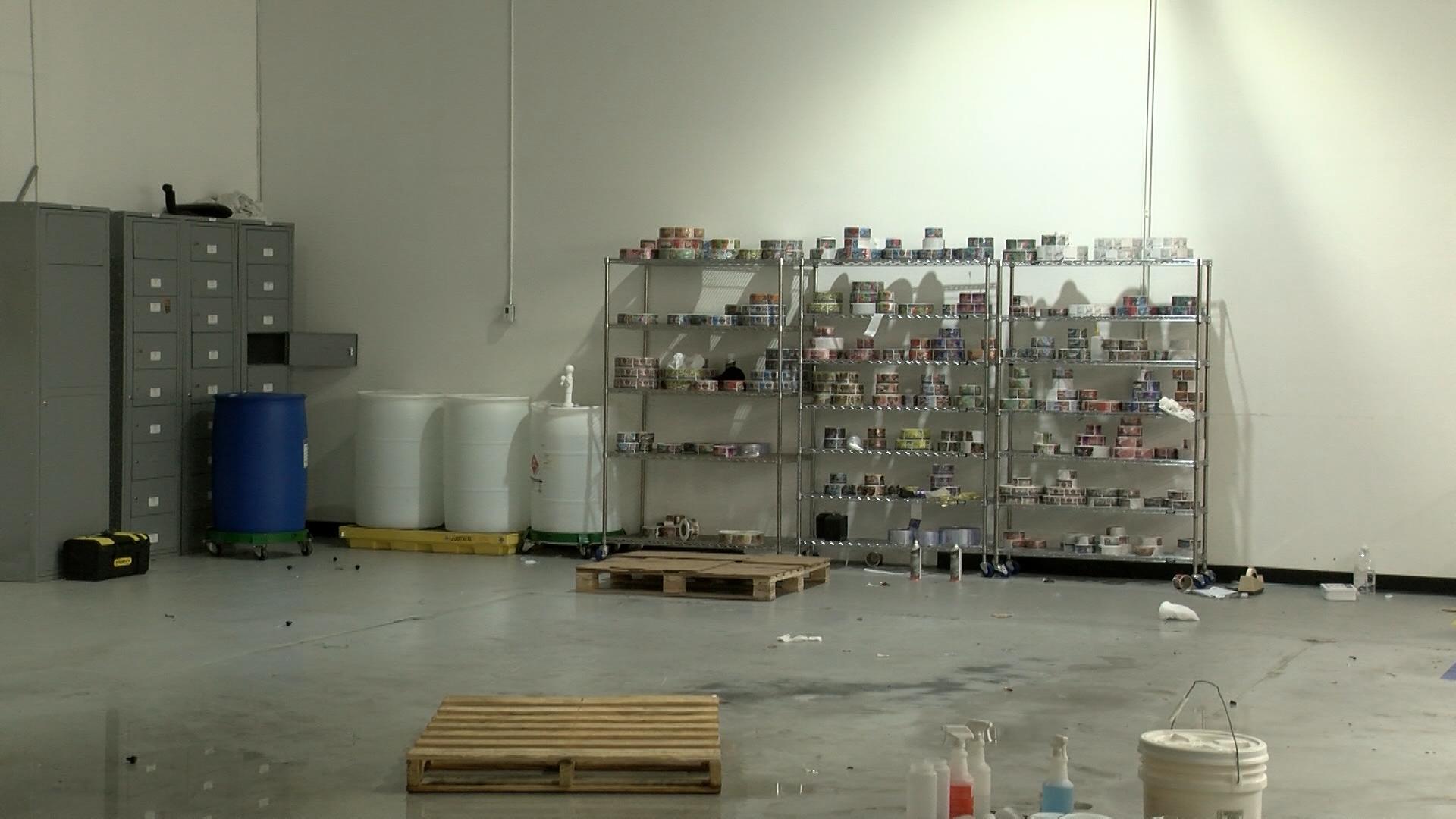Large vape shop manufacturing company leaving New York