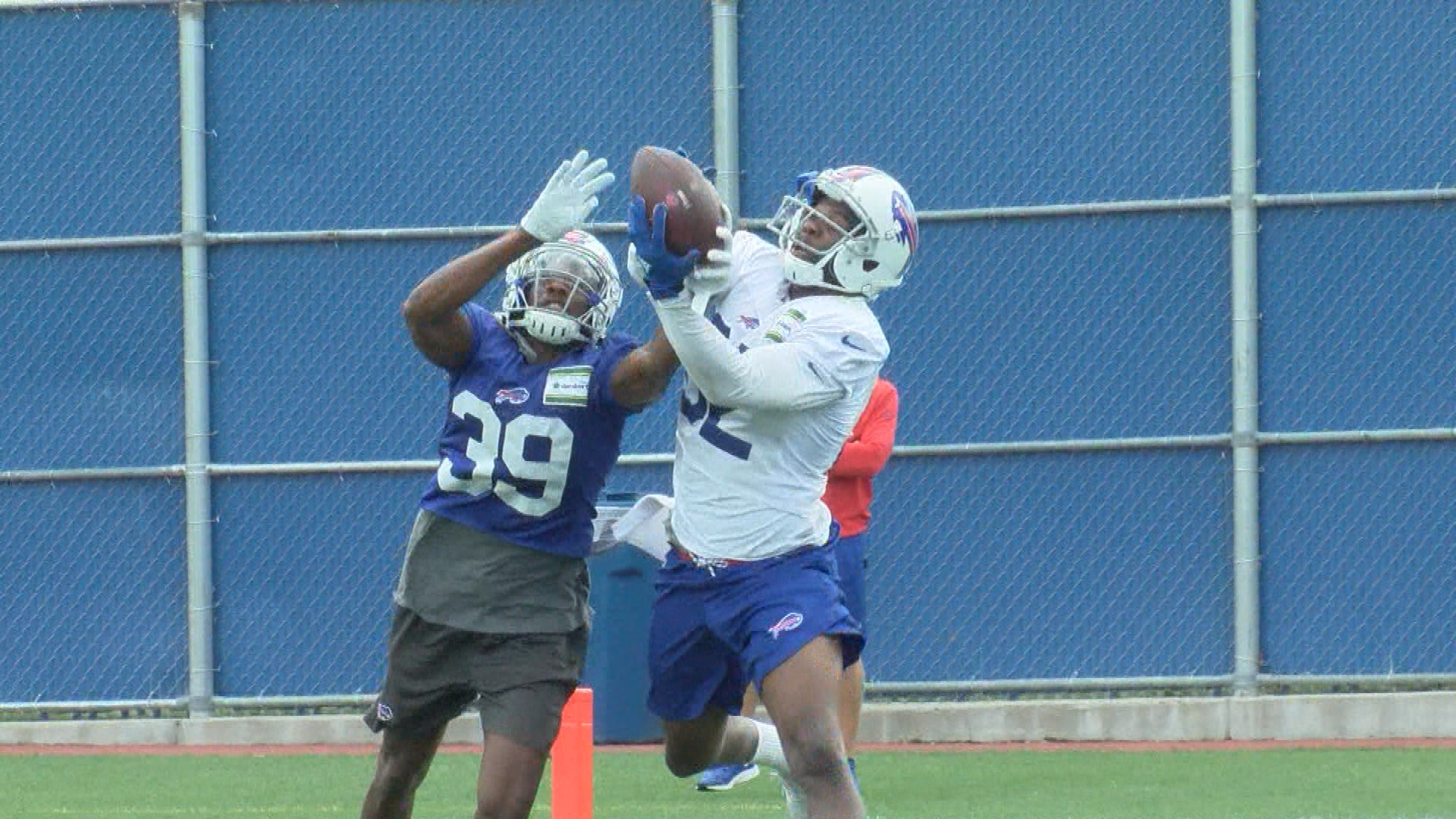 separation shoes 83bcd dcb8b Duke Williams shines with practice squad as roster preps for ...