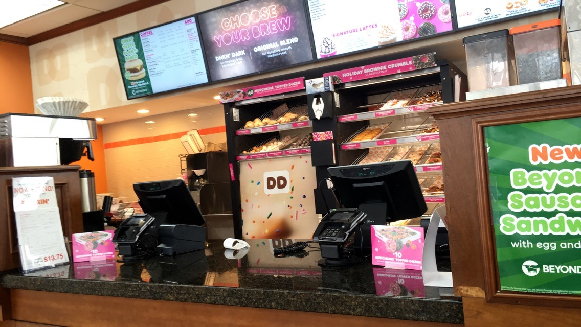 Police Investigating Armed Robbery At Dunkin Donuts