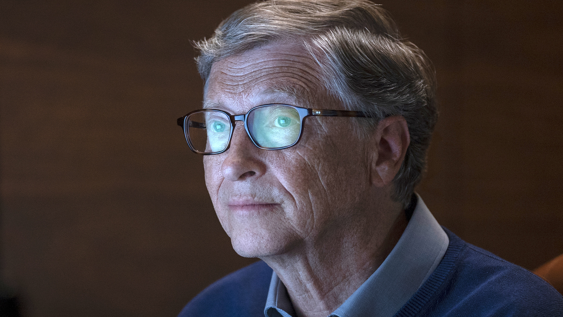 Go ahead, dive inside the mind of Bill Gates, but strap in