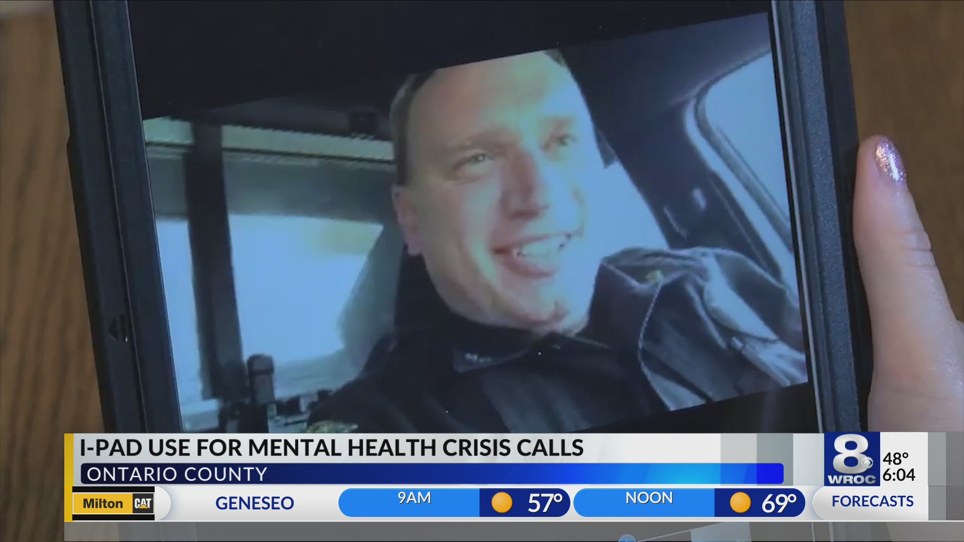 Deputies to use iPads when responding to mental health crisis calls in Ontario County