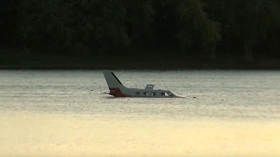 Rochester plane lands in Pennsylvania river