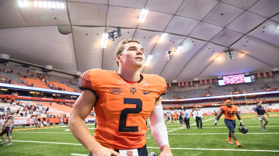 Syracuse Football: Eric Dungey earns NFL opportunity with Cleveland
