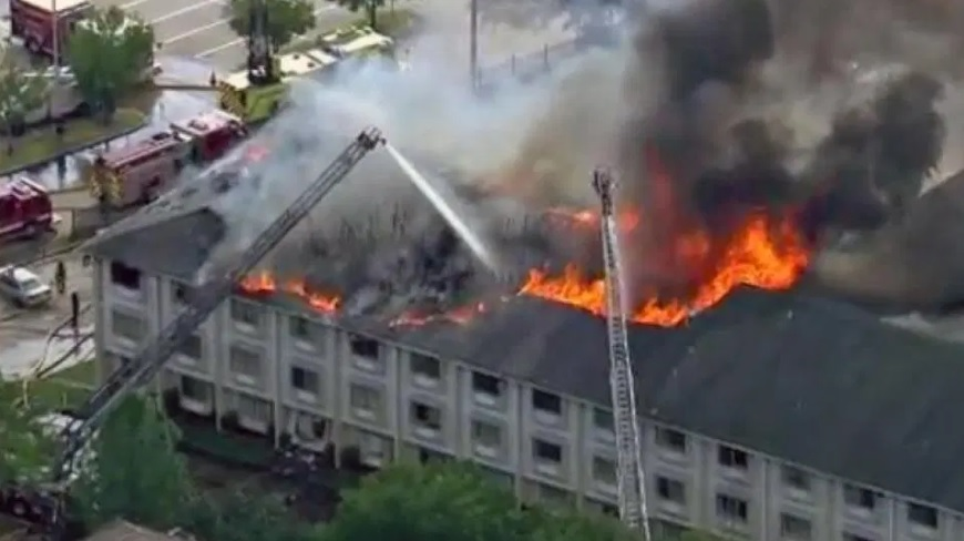 Texas Babysitter Charged After Kids Start Motel Fire With