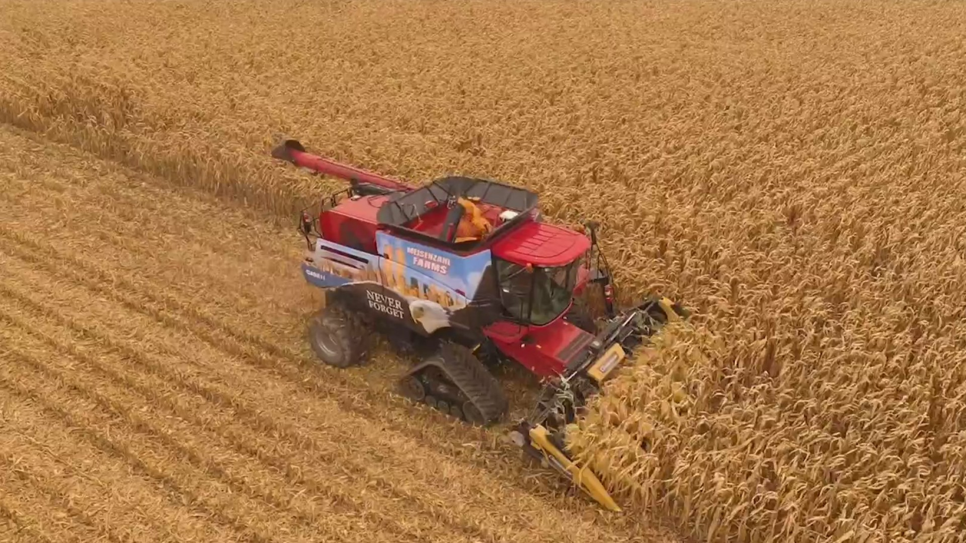 Farmers working non-stop to harvest before winter weather takes over