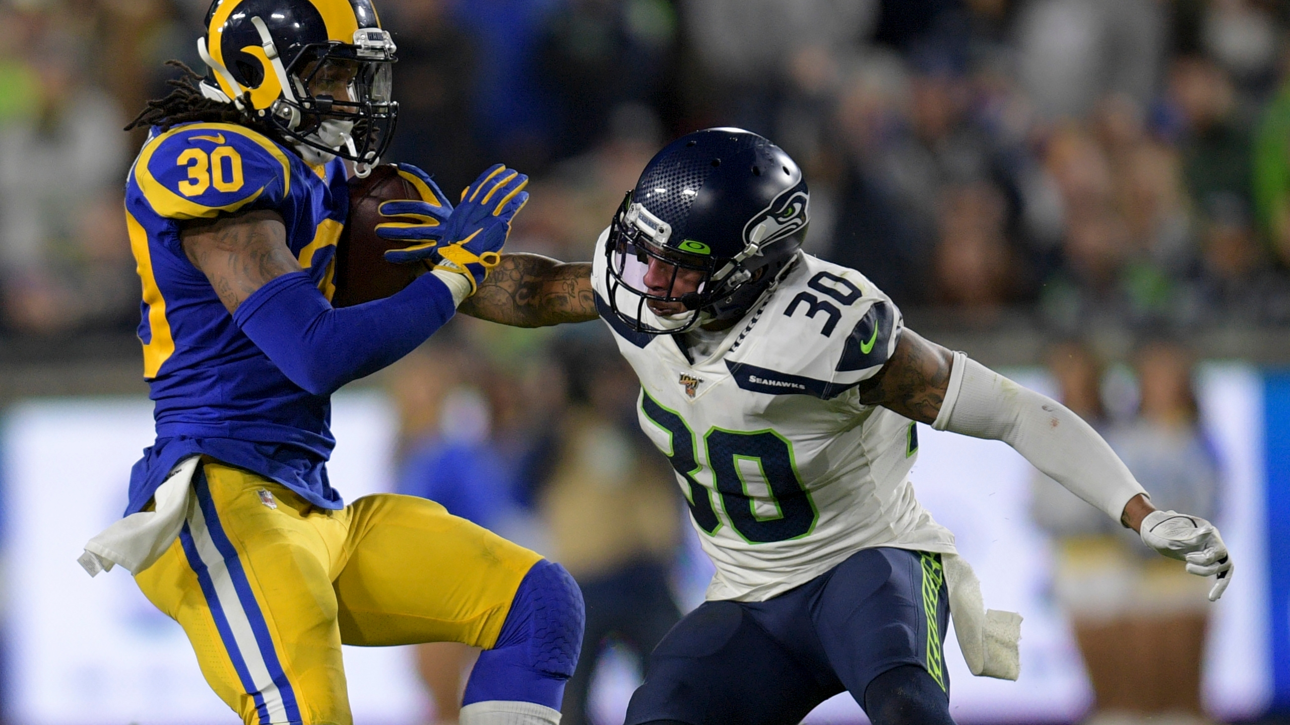 Rams Stay In Playoff Hunt End Seahawks 5 Game Streak 28 12