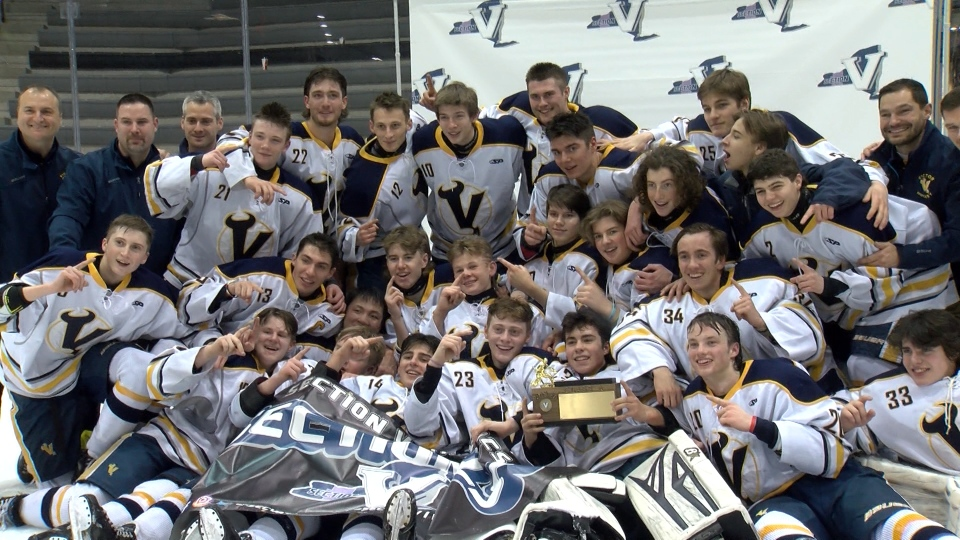 Victor defeats Fairport in OT for Class A title