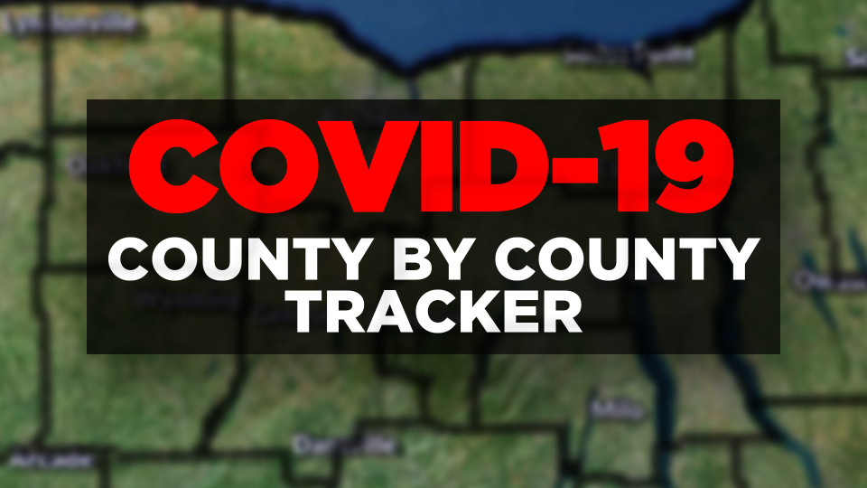 Covid-19 County by County tracker