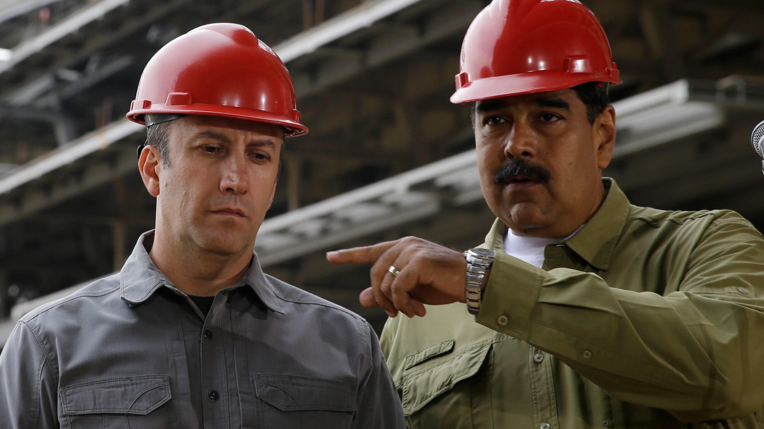 Tareck El Aissami, Nicolas Maduro