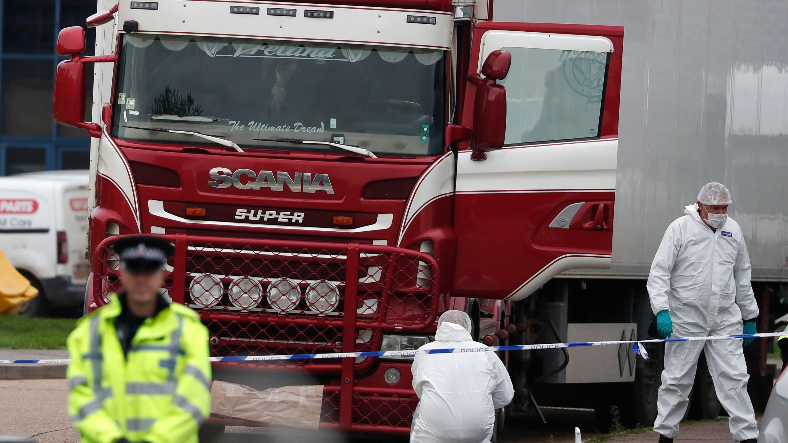 Police Arrest 26 People In UK Truck Deaths Of 39