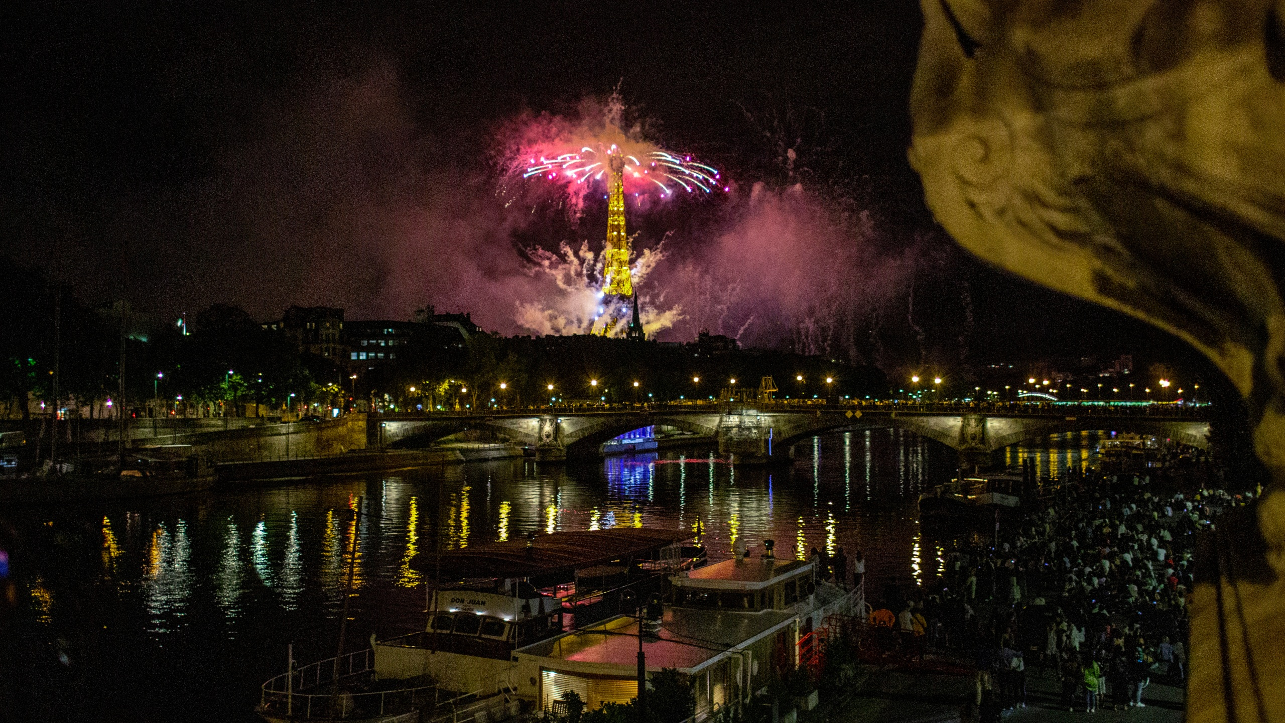 FRANCE BASTILLE DAY FIREWORKS