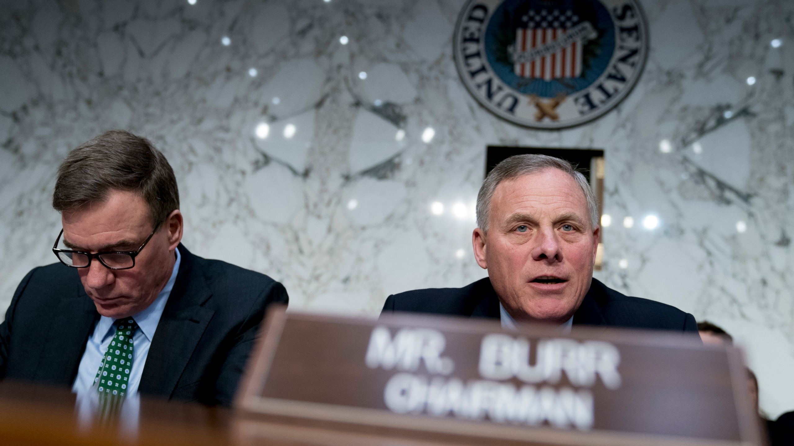 Mark Warner, Richard Burr