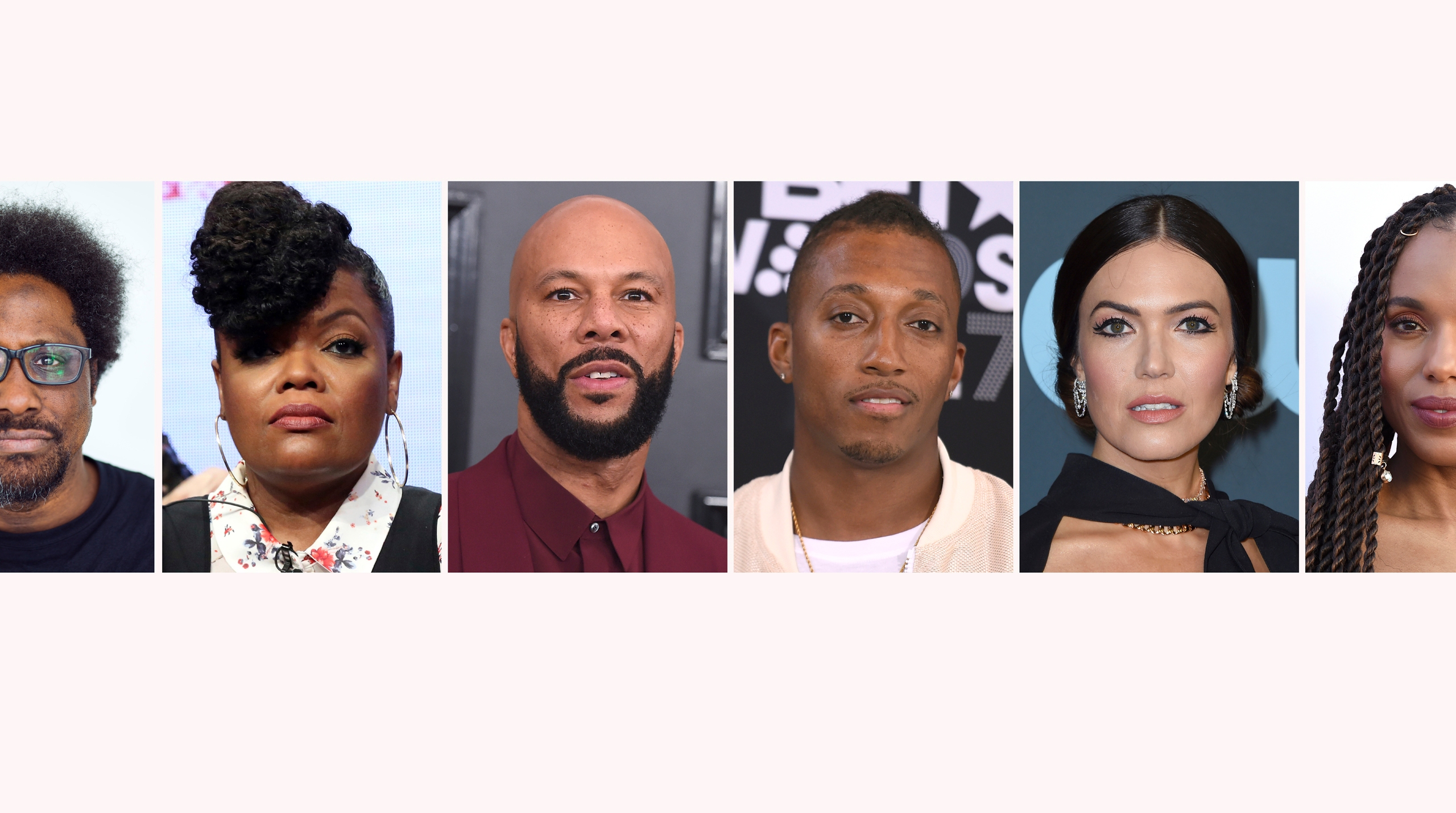 W. Kamau Bell, Yvette Nicole Brown, Common, Lecrae, Mandy Moore, Kerry Washington