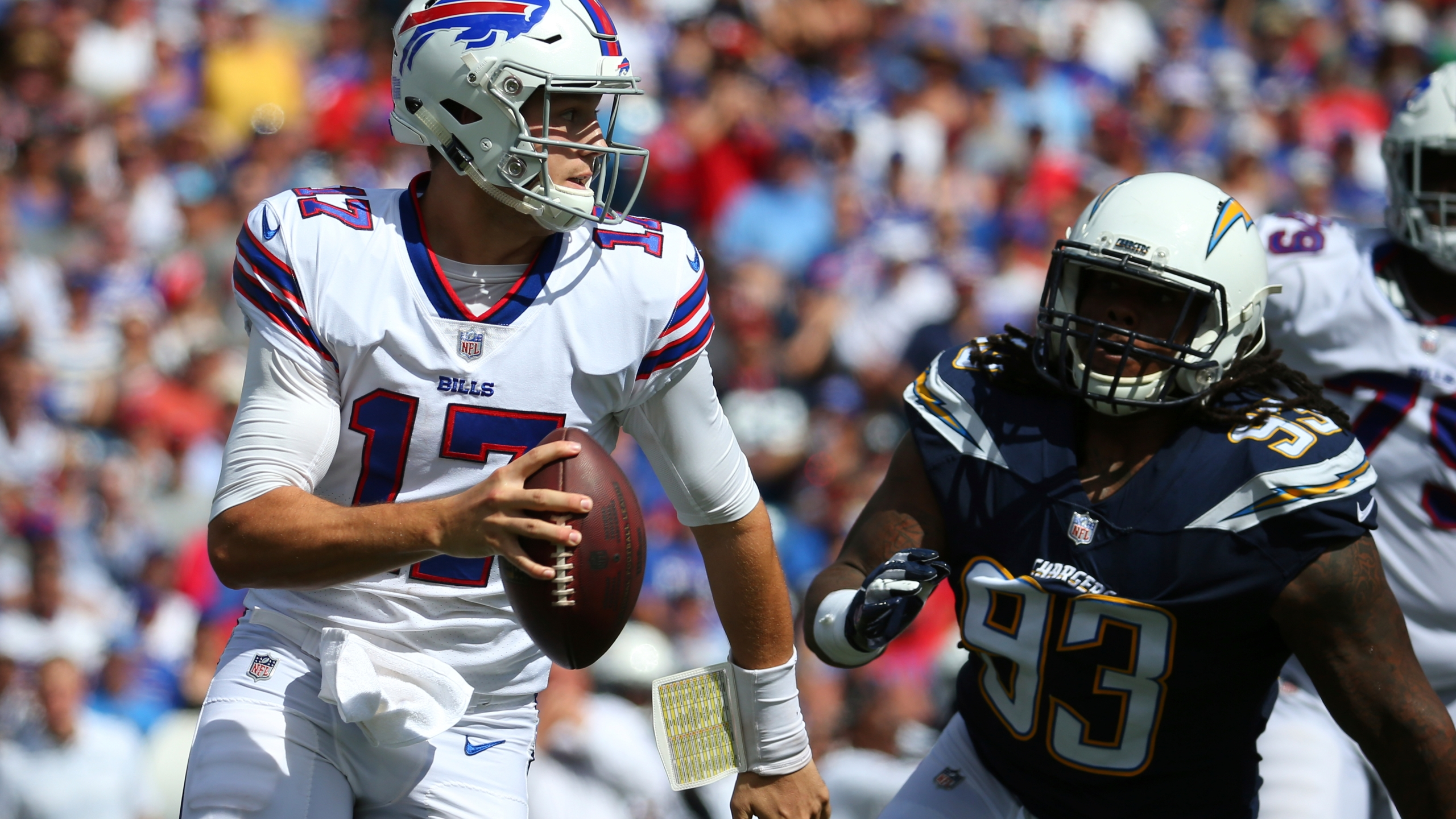 Josh Allen Reflects On First Nfl Start In 2018 Vs Chargers Rochesterfirst