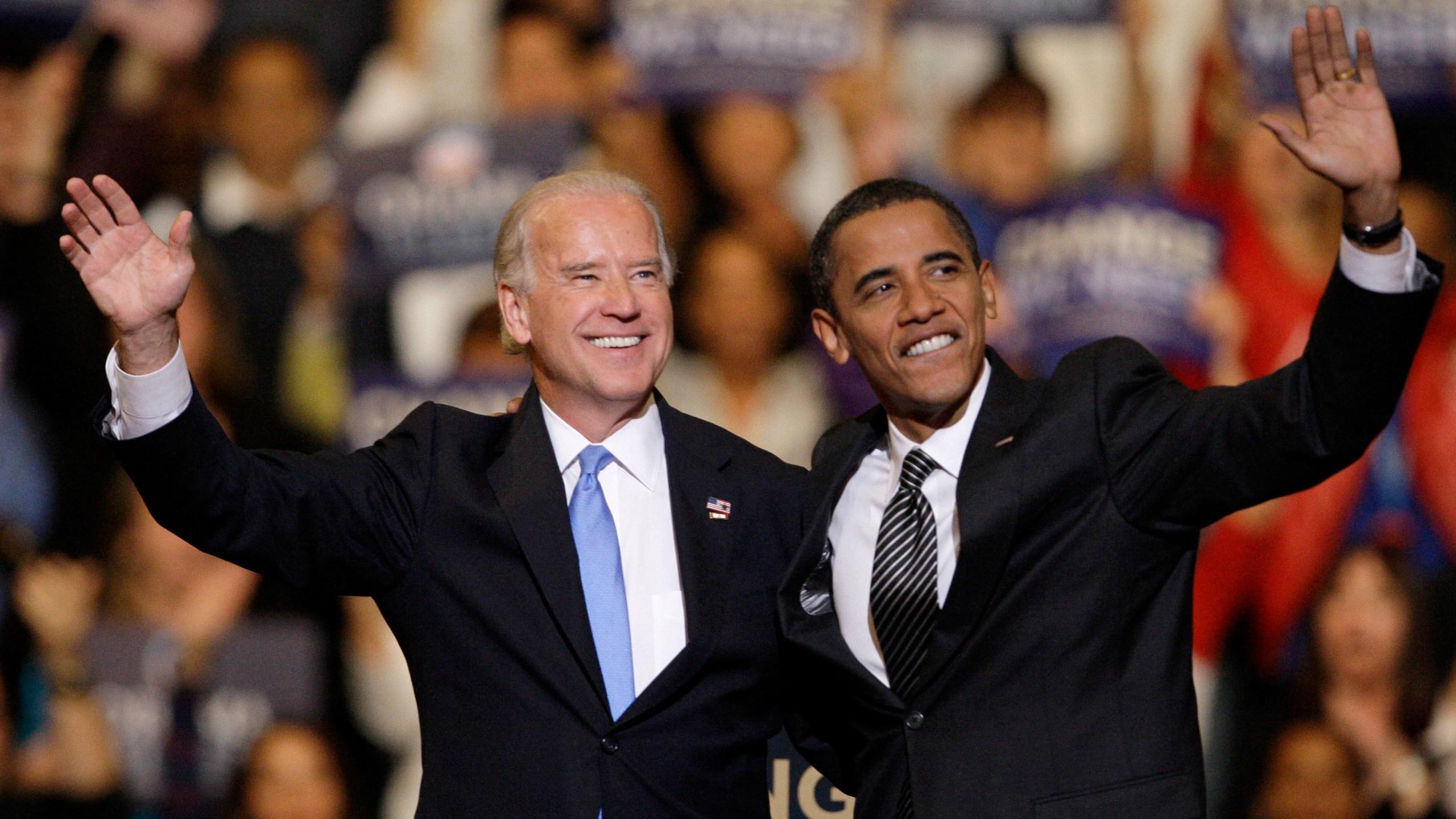 Joe Biden, Barack Obama