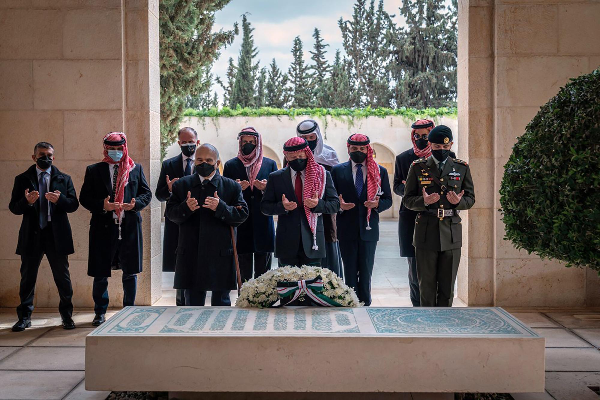Abdullah II, Hamzah bin Al Hussein