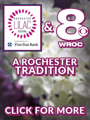 The Lilac Festival and Channel 8, A Rochester Tradition. Click for More.